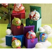 China Inside-Painting Glass Christmas ball Ornaments on sale