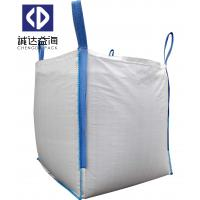 Buy cheap White Polypropylene Woven PP Big Bags closed Bottom open Top For Agriculture from wholesalers