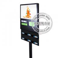 Buy cheap Durable Wifi Digital Signage 21.5 Inch Stand Alone Version Cell Phone Charging from wholesalers