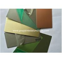 Buy cheap Sliver Reflective Aluminum Mirror Sheet Used For Ceiling / Elevator / Microwave Oven product