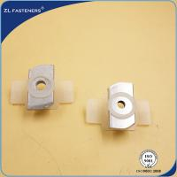 Buy cheap Zinc Alloyed Coating M10 Channel Nuts , Solar End Clamps Various Sizes product