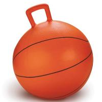 Buy cheap Non Toxic Space Hopper Ball Basketball Inflatable Toy Bouncing Ball With Handle product