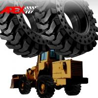 Buy cheap APEX 15.5-25 Solid Tire, Cushion Tyre for Wheel Loader, Integrated Tool Carrier, Elevating Motor Scraper product