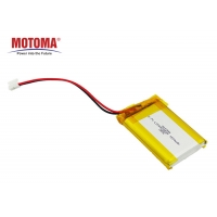 Buy cheap POS Machine 3.7 V 1500mah Lipo Battery Super Slim With 500 times cycle life product