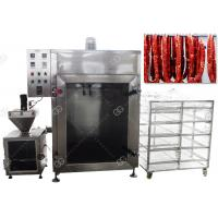 Buy cheap CE Passed Meat Sausage Smoking Machine Automatic Fish Smoke Oven 50KG / H from wholesalers