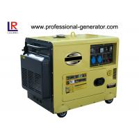 Buy quality 5.5 Kw  Diesel Driven Generator Single Cylinder Air - cooled Diesel Engine at wholesale prices