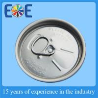 Buy quality Customized Soda Can Lid , Aluminum 206# SOT Juice Drink PET Can Cap at wholesale prices