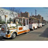 Buy cheap Outdoor Electric Trains Sightseeing Tourist Road Train 4m×1.65m×2.5m Train Head from wholesalers