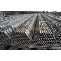 Buy cheap ASTM 53 ERW Pre Galvanized Steel Pipe Low Pressure For Liquid Pipe product