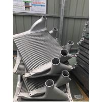 Buy cheap Aluminum Tube Fin Charge Air Cooler for Aftermarke Truck Turbo Engine air to air heat exchanger product
