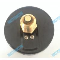 Buy cheap 80mm Round temperature Pressure gauge with chrome bezel and 1/2 inch brass connector product