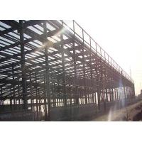 Buy cheap Customized Steel Structure Warehouse For Prefabricated Steel Structure Logistic Center product
