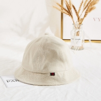 Buy cheap Winter Unisex Terry Cloth Soft Fabric Bucket Hat Cream Color product
