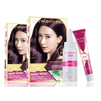 Buy cheap Salon Home Plant Extract  50ml Permanent Hair Color Cream product