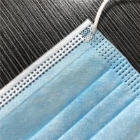 Buy cheap Disposable 3-Layer Surgical Dust Masks Universal Size Hypoallergenic Latex-Free Blue Color product