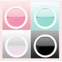 Quality Smartphones 3 Level Brightness Phone Light Selfie LED Selfie Ring Light for sale