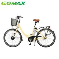 China Bicycle Dynamo Light Ladys City Electric High Quality Pedal Assisted Cargo Bike on sale