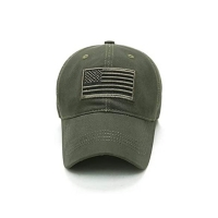 Buy cheap Fashion Letter Pattern 6 Panel Cotton Cap With Metal Buckle from wholesalers