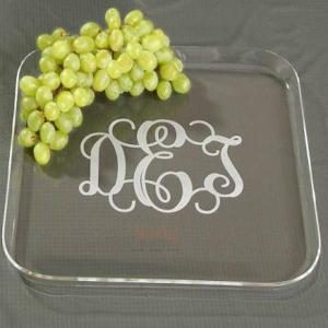 Buy cheap Transparent Plexglass Food Display Trays product
