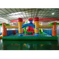 Buy cheap Kids Outdoor Inflatable Playground Equipment Anti UV Funny For Splash Park product