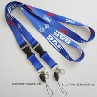 China China Factory for Event Dye Sublimation Lanyard/Heat Transfer Printing Lanyard with Cell phone attachment on sale