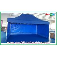 Buy quality Aluminum / Iron Frames Gazebo Replacement Canopy 3 x 4.5m With 3 Sidewalls at wholesale prices