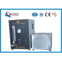 Buy cheap Micro Controlled Flame Test Equipment 820*820*1500 MM With Observation Window product