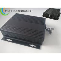 Buy quality SD Card Storage  4ch D1 Real-time Motion Detect PTZ Control MINI Black Box Mobile Car DVR at wholesale prices