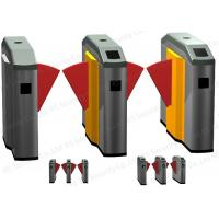 Buy quality Automatic TCP / IP Flap Barrier Gate Remote IR Sensor Access Control at wholesale prices