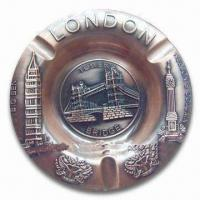 Buy cheap Promotional London Ashtray, Made of Alloy, Available in Various Sizes and Colors product