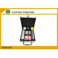 Buy cheap Travel Promotional Poker Chips Sets With Aluminum Case Traveling product