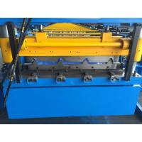 China 5.5KW AC Motor Corrugated Roofing Sheet Making Machine With Auto Stacker on sale