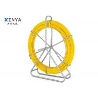 Buy cheap Fish tape 6mm 100m Flexible Fiberglass Duct Rodder Cobra Conduit Rod from wholesalers