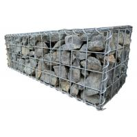 Buy cheap 3mm Heavy Duty Galfan Cage Welded Mesh Gabions For Rock Retaining Wall from wholesalers