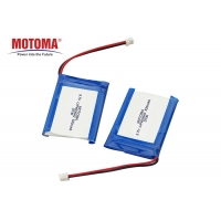 Buy cheap Low Self Discharge IOT Battery Pack 3.7V 520mAh , CE UL Custom Lithium Ion Battery Packs product