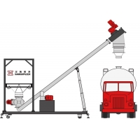 Buy cheap Huge Discharge Capacity SS304 Bulk Truck Unloading System product