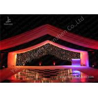 Buy cheap Luxury Marquees For Weddings Decorated with Noble and Gorgeous Linings and Lightings product