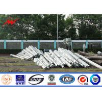 Buy cheap 3mm Thickness 40ft 500KG Gr65 Electrical Power Pole , Electrical Transmission from wholesalers