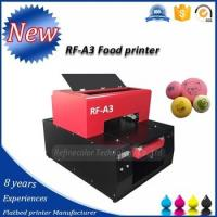 Quality food printer printing M&M, Candy, Macron, Chocolates, busicute, cake and so on for sale