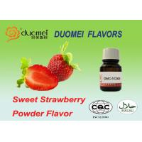 Buy cheap Water Soluble Liquid Sweet Strawberry Flavour Powder For Instant Solid Drinks product