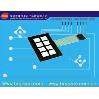 Buy cheap Glossy Window LED Backlit Membrane Switch FPC / PCB / silicone rubber For Equipment product