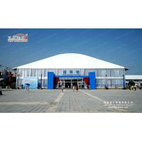 Buy cheap 4m side height high end double deck tent house for 300-500 people with Solid wall product