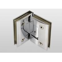 China 90 Degree Wall To Glass Hinges Bracket Screen Hinges Long Time Service Life on sale