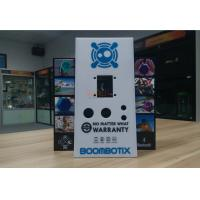Buy cheap White Acrylic Retail Window Displays For Bluetooth Speaker Laser Engraving product