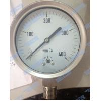 Buy cheap Stainless Steel Low Pressure Gauge Capsule Type With Shrink Bayonet Bezel product