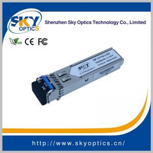 1.25Gbps SFP Optical Transceiver Single Mode SFP LX module 1310nm 20km Reach