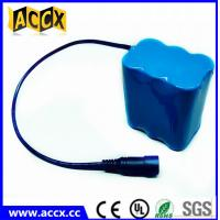 Buy quality 11.1v 4.4ah li-ion battery pack for christmas lights at wholesale prices