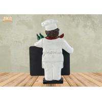 Buy cheap Small Polyresin Statue Figurine With Chalkboard Blackboard product