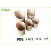 Buy cheap 32oz / 12oz Printed Kraft Paper Cups , Food grade corrugated paper coffee cups product