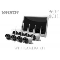 Buy cheap 1.3MP 960P 8 Channel Wireless Security Camera System Easy Remote Access Night Vision from wholesalers